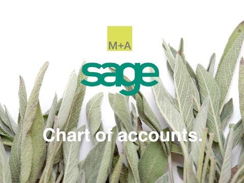 Sage - Chart of Accounts