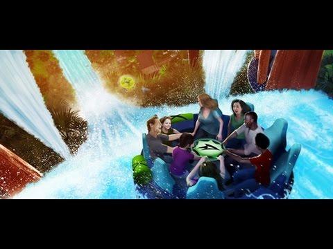 Infinity Falls | SeaWorld Orlando