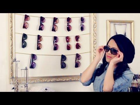 DIY Sunglasses Display Frame and BONUS tutorial!