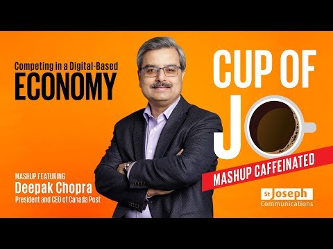 Cup of Jo - Competing in a Digital-Based Economy featuring Deepak Chopra