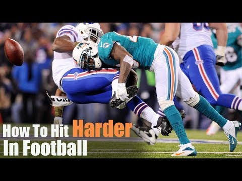 How To Hit Harder In Football