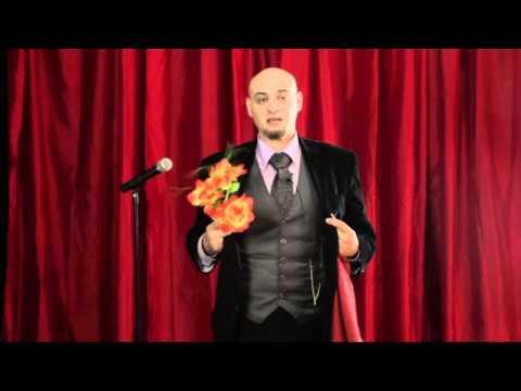 Red Cloth Magic Trick : Magic Tricks Revealed