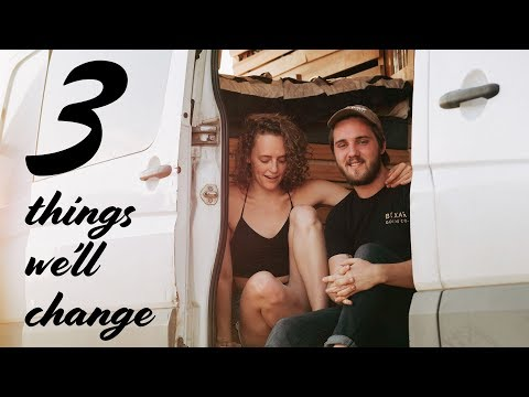 MAJOR RENOVATION | 3 Things We'll Change In Our Van Conversion