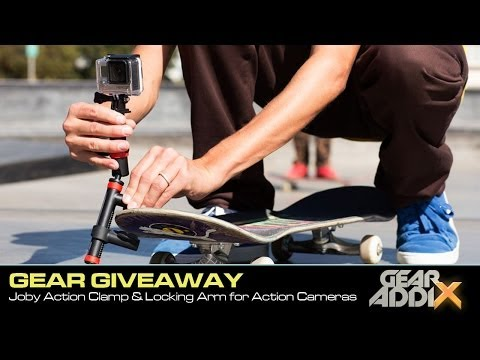 GEAR GIVEAWAY:  Joby Action Clamp and Locking Arm Camera Mount
