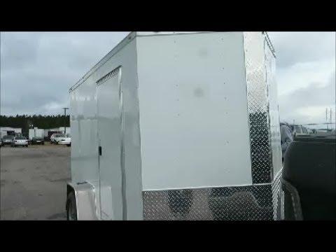 6 x 10 box trailer camper conversion pick up