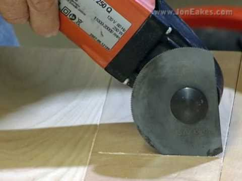 Avoid burning with an Oscillating Saw in plunge cutting.