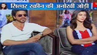 Shah Rukh Khan & Alia Bhatt Exclusive interview with Manak Gupta