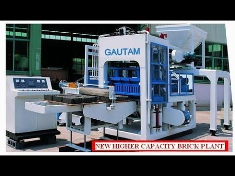 fully automatic flyash brick machine