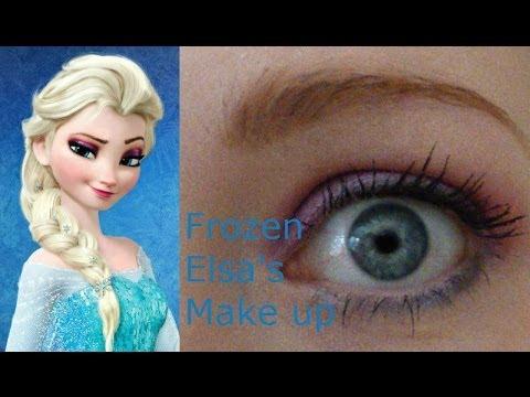 'Frozen' Elsa: Make Up