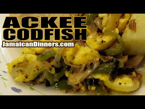 ACKEE CODFISH BELL PEPPER Recipe: Short Film
