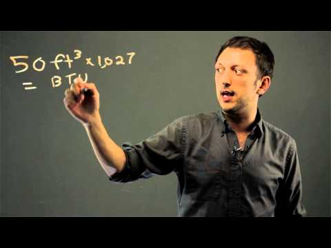 How to Convert Cubic Feet to Tons for Air Conditioning : Math Solutions