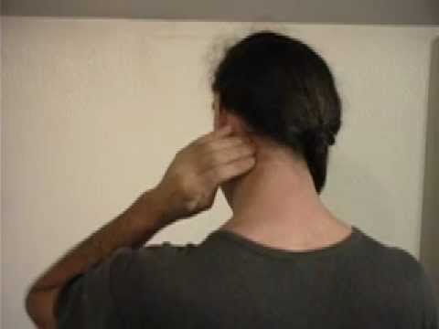 How to Quickly Release Neck Pain Massage