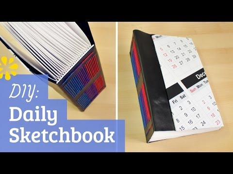 DIY Daily Entry Sketchbook | Sea Lemon