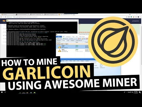 How to Mine Garlicoin ($GRLC) Allium Hardfork (Nvidia/AMD) with Awesome Miner
