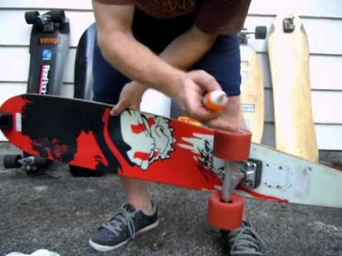 How to clean and lube skateboard bearings FAST - load with Skanunu + Centrifuge method