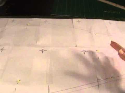 Sew Christmas Tree Skirt - Cut the kite