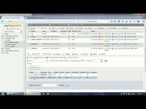 Work on MySQL Database using phpMyAdmin and MySQL Workbench IDE