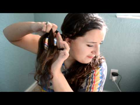 Front French Braid - Tutorial | RaRaBiancAhAh