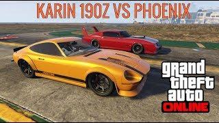 GTA 5 Online   Karin 190Z VS Phoenix