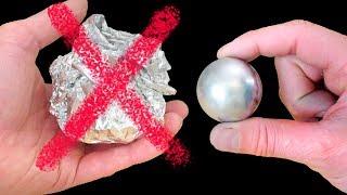 How to Make a Metal Ball - Gallium Not Foil!