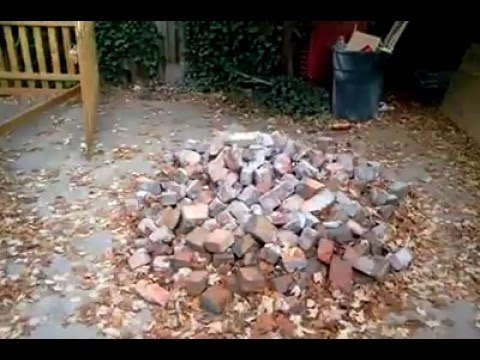 how to lay clinker brick