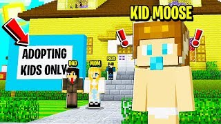 I Became a KID and EXPOSED the PARENTS ONLY Minecraft Server!