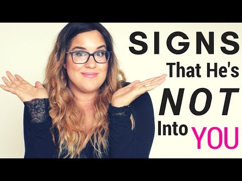 Signs He's Not Into You