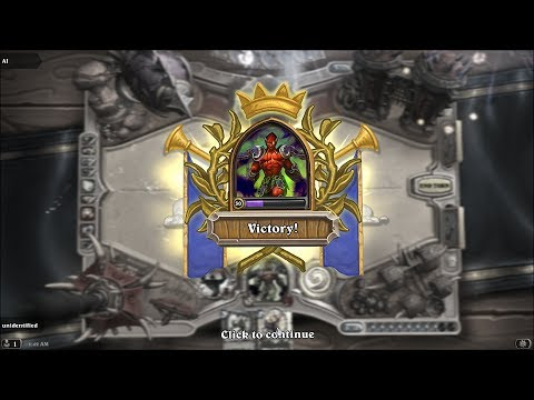 Hearthstone : Crafting the Legendary Golden Lord Jaraxxus (with combat debut)