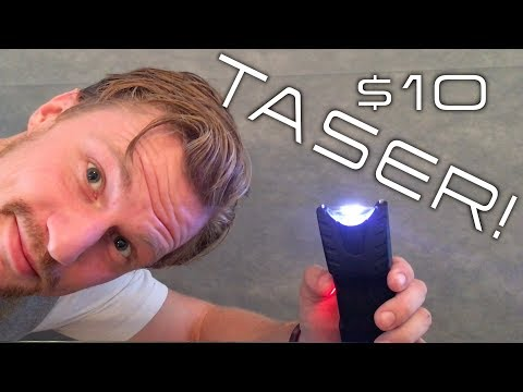 Testing the Cheapest Taser on Amazon!! (on myself)
