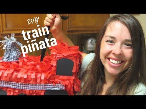 DIY - Train Piñata