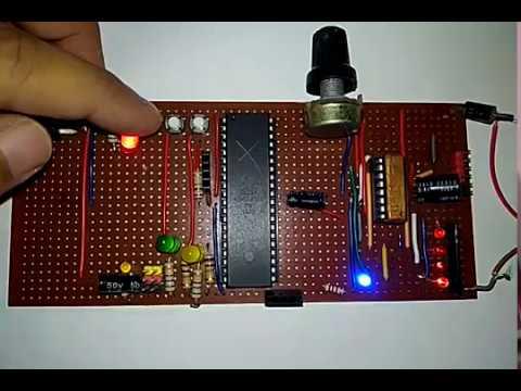 Atmega32A DC Motor Controller
