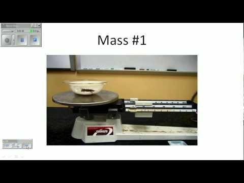 Empirical Formula Lab Setup
