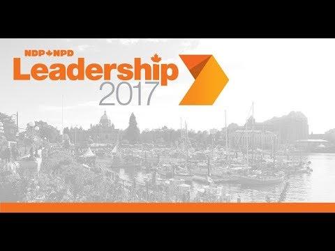 NDP Leadership 2017 Debate - Victoria // Débat de la course au leadership du NPD - Victoria