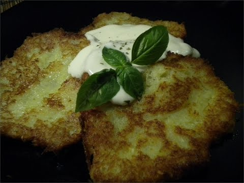 Polish Potato Pancakes - Placki Kartoflane