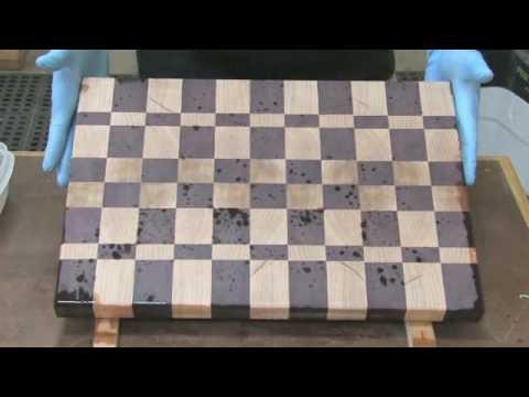 The Wood Whisperer: Varnish on a Butcher Block