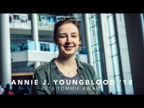 2018 Tommie Award - Annie J. Youngblood '18