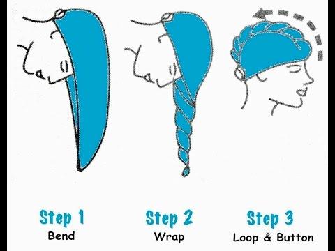 DIY Repurpose your towel for wet hair wrap|| spa hair wrap