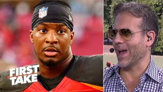 'I thought he was a bust!' – Max Kellerman calls Jameis Winston a top 10 QB | First Take