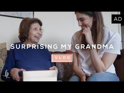 SURPRISING MY GRANDMA | Lily Pebbles