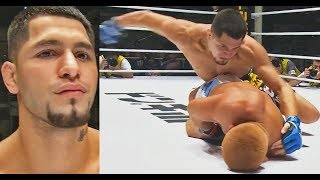 With A Broken Ankle, Jorge Masvidal Finishes Japanese Grappling Legend Satoru Kitaoka