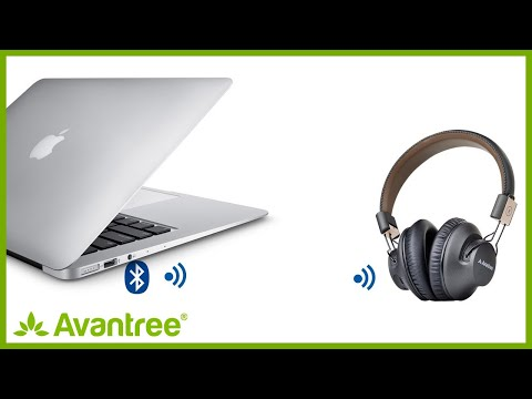 Avantree How to - Connect Bluetooth headphones with MacBook (Audition Pro)