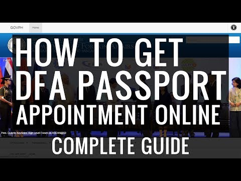 How to Get DFA Passport Appointment Online