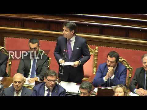Italy: PM Conte calls for review of Russia sanctions in EU