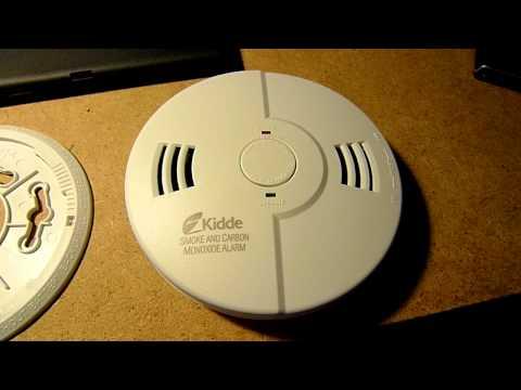 Kidde KN-COSM-B Smoke and Carbon Monoxide Alarm Test