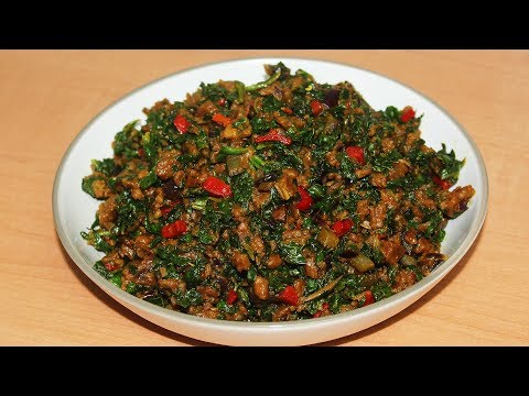 Achicha Ede   Very Traditional Igbo Meal