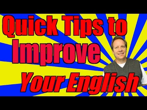 Improve Your English Listening, Vocabulary, Writing and More with My 5 Minute Tips!