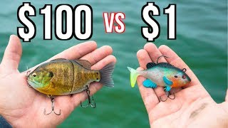 CHEAP vs EXPENSIVE Swimbait Fishing CHALLENGE!!!!