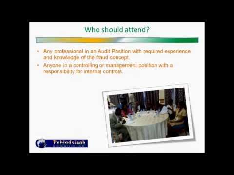Fraud and Forensic Accounting - Advanced Course