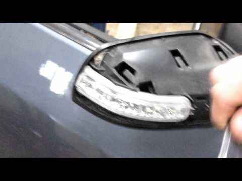 Nissan mirror turn signal replacement