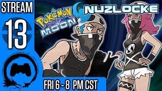 Pokemon Moon NUZLOCKE (BLIND) Part 12 - Stream Four Star